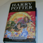 Harry Potter The Deathly Hallows First Edition Hardback Book